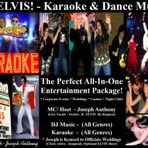 DJ ELVIS - Joseph Anthony - Mobile DJ in Katy, Texas