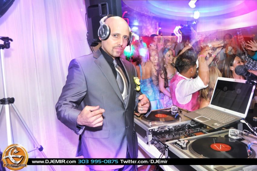 Hire Dj Emir Santana High Impact Entertainment Wedding Dj In