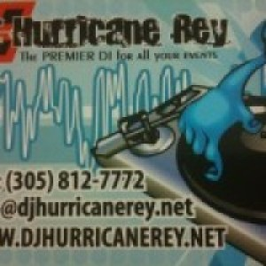 DJ Hurricane Rey - Mobile DJ / Club DJ in Hialeah, Florida
