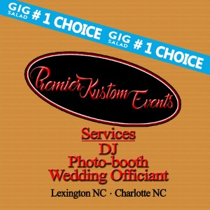 Premier Kustom Events - Mobile DJ / Wedding Officiant in Charlotte, North Carolina
