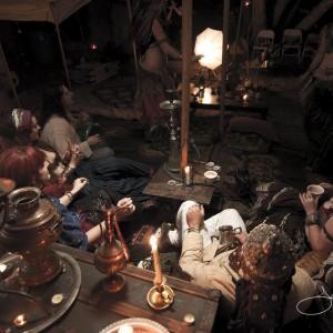 Djinn and Tonix Bedouin Tent and Tea