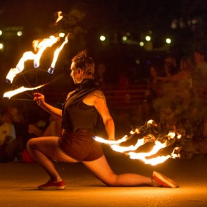 DNA Project - Fire Dancer in Fresno, California