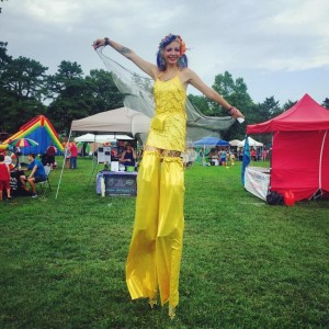 Dolly Longlegs - Circus and StiltWalking - Stilt Walker / Outdoor Party Entertainment in Toms River, New Jersey