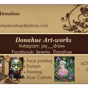 Donahue Art-works - Face Painter / College Entertainment in Jackson, Mississippi