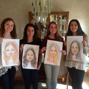 Donna Klein - Caricaturist / Corporate Event Entertainment in Levittown, Pennsylvania