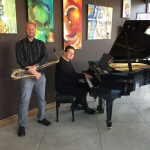 Double Sharp Duet - Jazz Band / Holiday Party Entertainment in Kelowna, British Columbia