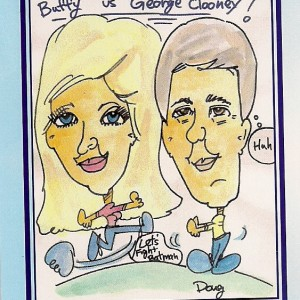 Doug Foster the Caricature Artist - Caricaturist in Sun City, California