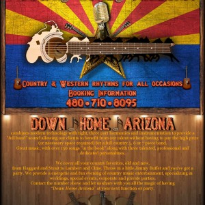 Down Home/Music from the Country - Country Band in Scottsdale, Arizona