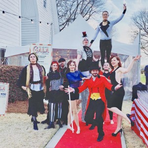 Down to Earth Aerials - Aerialist / Mardi Gras Entertainment in Raleigh, North Carolina