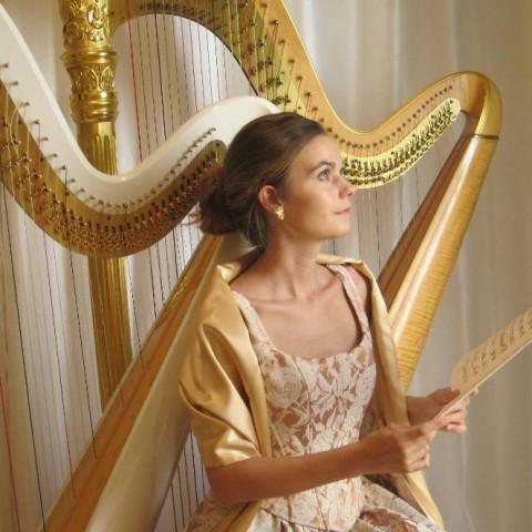 Hire Dr Vanessa Sheldon Harpist Harpist In Palm