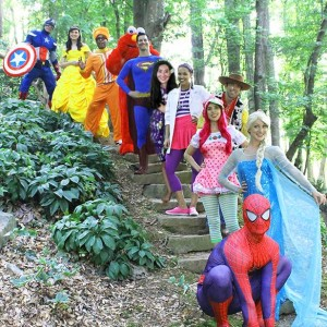 Dream Friends Entertainment, LLC - Costumed Character / Superhero Party in Atlanta, Georgia