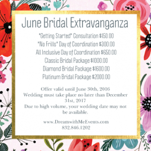 Dream With Me Event Planning - Event Planner in Houston, Texas