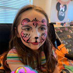 Dreams in Technicolor Face Painting - Face Painter in Plano, Texas