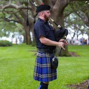Duncan Rhoad, the Half Moon Highlander - Bagpiper in Charleston, South Carolina