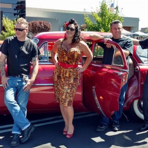 Dyana and The Cherry Kings - Rockabilly Band in Sacramento, California