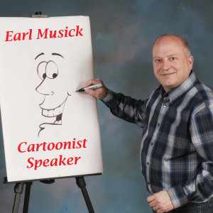 Earl Musick Cartoonist/Speaker/Comedian - Christian Speaker in Bucyrus, Ohio