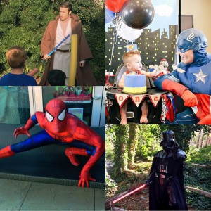 Earth 2 Entertainment - Costumed Character / Princess Party in Huntington Beach, California