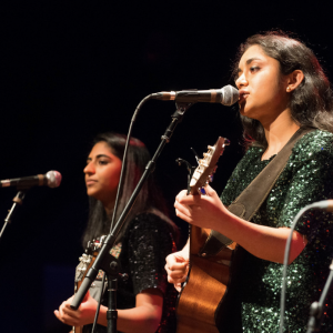 Easha and Shravya - Acoustic Band in Princeton, New Jersey