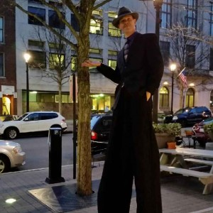 East Coast Giants - Stilt Walker in High Point, North Carolina