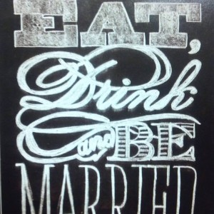 Eat Drink & Be Married Event Planning