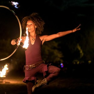 Ebonie Hoops - Hoop Dancer / Fire Performer in Crown Point, Indiana