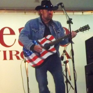 Ed Kellleher as Toby Keith - Toby Keith Impersonator / Country Singer in Virginia Beach, Virginia