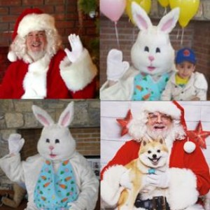 Ed McCarty's Characters - Santa Claus / Easter Bunny in Bridgewater, New Jersey