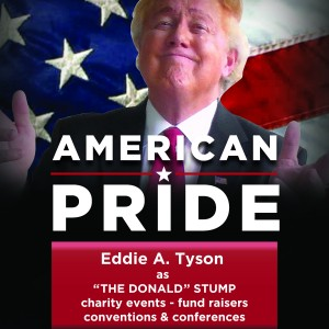 "Eddie Tyson as The ""DONALD"" STUMP - Donald Trump Impersonator / Christian Speaker in Dunedin, Florida"