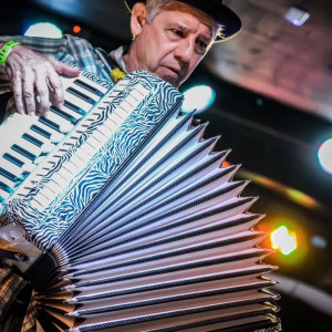 Accordion Solo - Zydeco Band in Largo, Florida