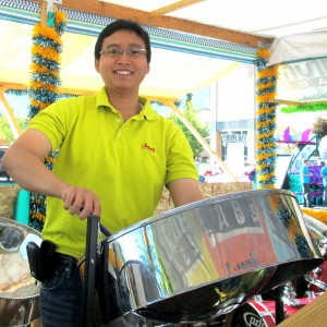 Egha Kusuma-Steel Drum Island Music - Steel Drum Player in Provo, Utah