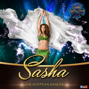 Sacha, the Egyptian Dancer - Belly Dancer in Houston, Texas