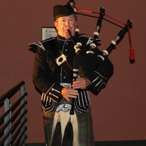 El Gaitero - Bagpiper in Placitas, New Mexico
