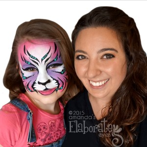 Elaborate Eyes Face & Body Painting - Face Painter in Independence, Ohio
