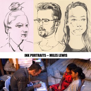Elegant Portraits - Fine Artist / Arts & Crafts Party in Woodland Hills, California