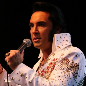 Eli Williams as ELVIS - Elvis Impersonator in Pigeon Forge, Tennessee