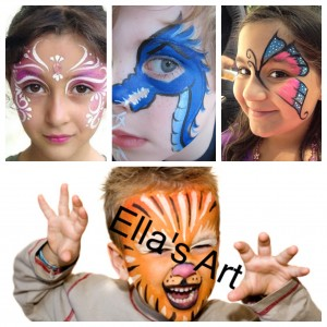 Ella's Art - Face Painter / Halloween Party Entertainment in Clermont, Florida
