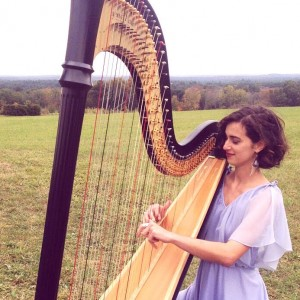 Ellie the Harpist