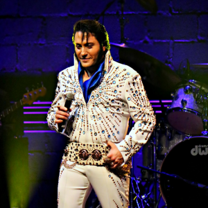 Elvis Thru the Years with Jim Barone - Elvis Impersonator in Atlantic City, New Jersey