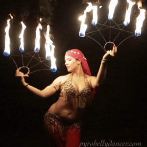 Pyro Bellydancer - Fire Dancer in Garrison, New York