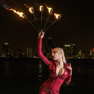Emily Astrom, Bellydancer & Fire Spinner - Fire Dancer in Orlando, Florida