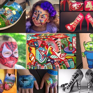 Emily Ireland arts - Face Painter / Outdoor Party Entertainment in Rancho Cordova, California