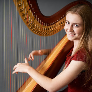 Emma Ross - Harpist in Rosamond, California