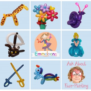 Emmeloons - Balloon Twister / Family Entertainment in Sherborn, Massachusetts