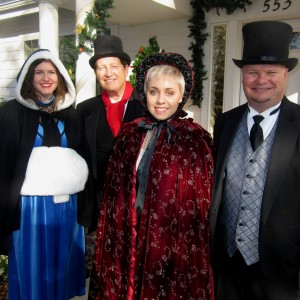 Encore at Christmas - Christmas Carolers / Singing Pianist in Sacramento, California
