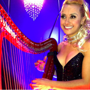 Electro and Classical Harpist Kiki Bello - Harpist / Interactive Performer in Miami, Florida