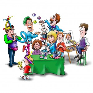 Jason Levinson & Company - Children's Party Entertainment / Caricaturist in Silver Spring, Maryland