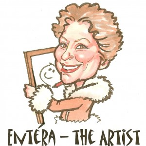Entéra - the Artist - Caricaturist in Montecito, California