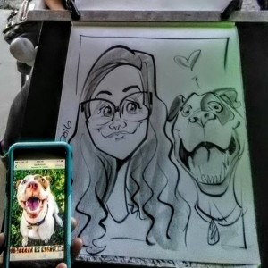 Ericatures - Caricaturist in San Antonio, Texas