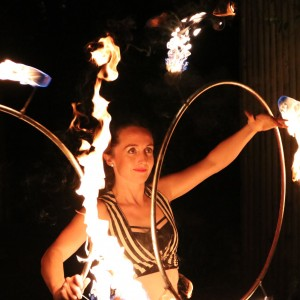 Circus Entertainment - Erin Jeannier - Fire Performer / Stilt Walker in Boston, Massachusetts