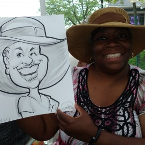 Ernest Posey Caricatures - Caricaturist / College Entertainment in Flossmoor, Illinois